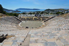 Amphitheater of Bodrum, Turkey Stock Image