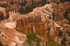 Amphitheater Bryce Canyon National Park. This is a close-up of hoodoos at Bryce Canyon National Park in Utah stock images