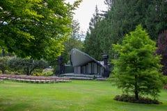 Amphitheater, Butchart-Gärten, Victoria BC Kanada lizenzfreie stockfotografie