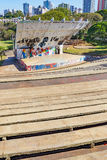 Amphitheater called Luigi Borghesi or Anfiteatro do Zerao. Londrina, Brazil - July 26, 2017: Amphitheater called Luigi Borghesi or Anfiteatro do Zerao localized Royalty Free Stock Images