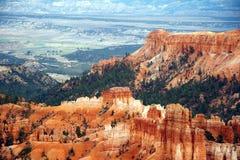 Amphitheater - canyon di Bryce Fotografia Stock