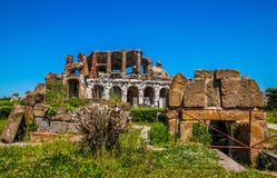 Amphitheater in Capua city, Italy. Santa Maria Capua Vetere Amphitheater in Capua city, Italy Royalty Free Stock Images