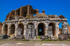Amphitheater in Capua city, Italy. Santa Maria Capua Vetere Amphitheater in Capua city, Italy Royalty Free Stock Photo