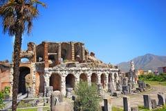 Amphitheater in Capua city, Italy. Santa Maria Capua Vetere Amphitheater in Capua city, Italy Stock Images