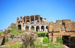 Amphitheater in Capua city, Italy. Santa Maria Capua Vetere Amphitheater in Capua city, Italy Royalty Free Stock Photography