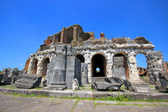 Amphitheater in Capua city, Italy. Santa Maria Capua Vetere Amphitheater in Capua city, Italy Royalty Free Stock Photos