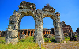 Amphitheater in Capua city, Italy. Santa Maria Capua Vetere Amphitheater in Capua city, Italy Stock Photography