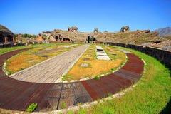 Amphitheater in Capua city, Italy Royalty Free Stock Photos