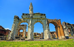 Amphitheater in Capua city, Italy. Santa Maria Capua Vetere Amphitheater in Capua city, Italy Stock Images