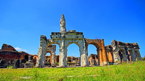 Amphitheater in Capua city, Italy. Santa Maria Capua Vetere Amphitheater in Capua city, Italy Stock Image