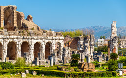 The Amphitheater of Capua, the second biggest roman amphitheater Royalty Free Stock Photography