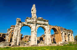 The Amphitheater of Capua, the second biggest roman amphitheater Royalty Free Stock Images
