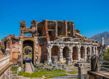 Amphitheater in Capua-Stadt, Italien Stockfotos