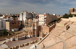 Amphitheater in Cartagena, Spain Stock Photos