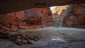 The Amphitheater, Catherdral Gorge, Purnululu National Park. Catherdral Gorge in the Purnululu World Heritage Area is a very special place in the world. Its stock photos