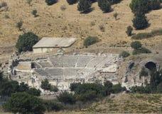 Amphitheater2 (coliseo) en Ephesus (Efes) Foto de archivo libre de regalías