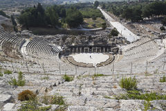 Amphitheater (Coliseum) in Ephesus Stock Photography