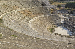 Amphitheater (Coliseum) in Ephesus Royalty Free Stock Photo