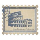Amphitheater Colosseum stock abbildung
