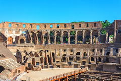 Amphitheater Colosseum in Rome Royalty Free Stock Photo