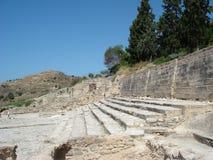 amphitheater crete Arkivfoton