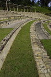 Amphitheater curved seats Royalty Free Stock Photography