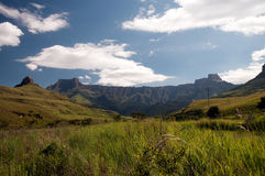 Anfiteatro de Drakensberg Imagens de Stock Royalty Free