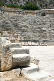 Amphitheater in Demre. Circus, the amphitheater in Demre, Turkey Stock Photo