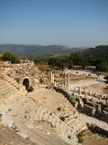 Amphitheater di Ephesus Fotografie Stock Libere da Diritti