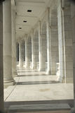Amphitheater do cemitério nacional de Arlington Fotos de Stock Royalty Free