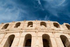 Amphitheater EL Djem (6) Lizenzfreie Stockfotos