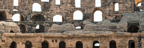 Amphitheater EL Djem (13) Stockbild