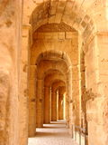 Amphitheater of El Djem Royalty Free Stock Photos