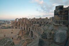 Amphitheater in El Djem Stock Photos