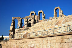 Amphitheater of El Jem Royalty Free Stock Photo