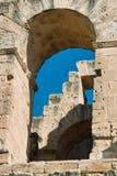 Amphitheater El-jem Stock Image