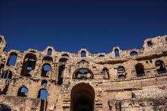 Amphitheater in El Jem, Tunisia Royalty Free Stock Image
