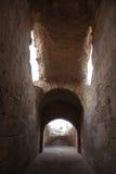 The amphitheater in El-Jem, Tunisia Stock Photo
