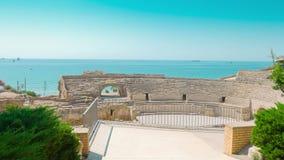 Amphitheater em Tarragona, Spain filme