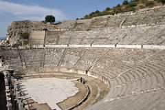Amphitheater of Ephesus. Izmir, Turkey Royalty Free Stock Photos