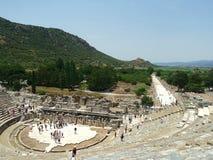Amphitheater in  Ephesus ( Teatr ) Stock Image