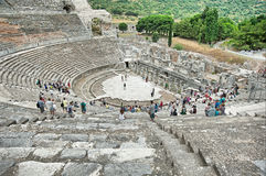 Amphitheater in Ephesus, Turkey Royalty Free Stock Photo