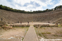 Amphitheater of Epidaurus Royalty Free Stock Photography