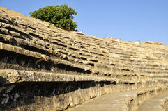 Amphitheater in hierapolis, Pamukkale Royalty Free Stock Images
