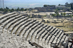 Amphitheater in hierapolis, Pamukkale - Turkey. Stock Images