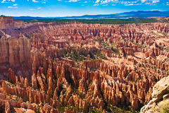 Amphitheater of Hoodoos from Inspiration Point, Bryce Canyon National Park, Utah, USA. Amphitheater of Hoodoos from Inspiration Point, Bryce Canyon National Park Stock Photo