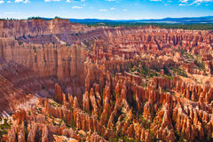 Amphitheater of Hoodoos from Inspiration Point, Bryce Canyon National Park, Utah, USA Royalty Free Stock Photography