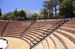 Amphitheater at the hotel. Royalty Free Stock Photo