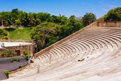 Free Amphitheater In Ancient Village Altos De Chavon - Royalty Free Stock Image - 53525846