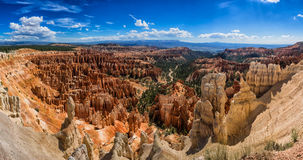 Amphitheater from Inspiration Point at Bryce Canyon National Par Royalty Free Stock Photo